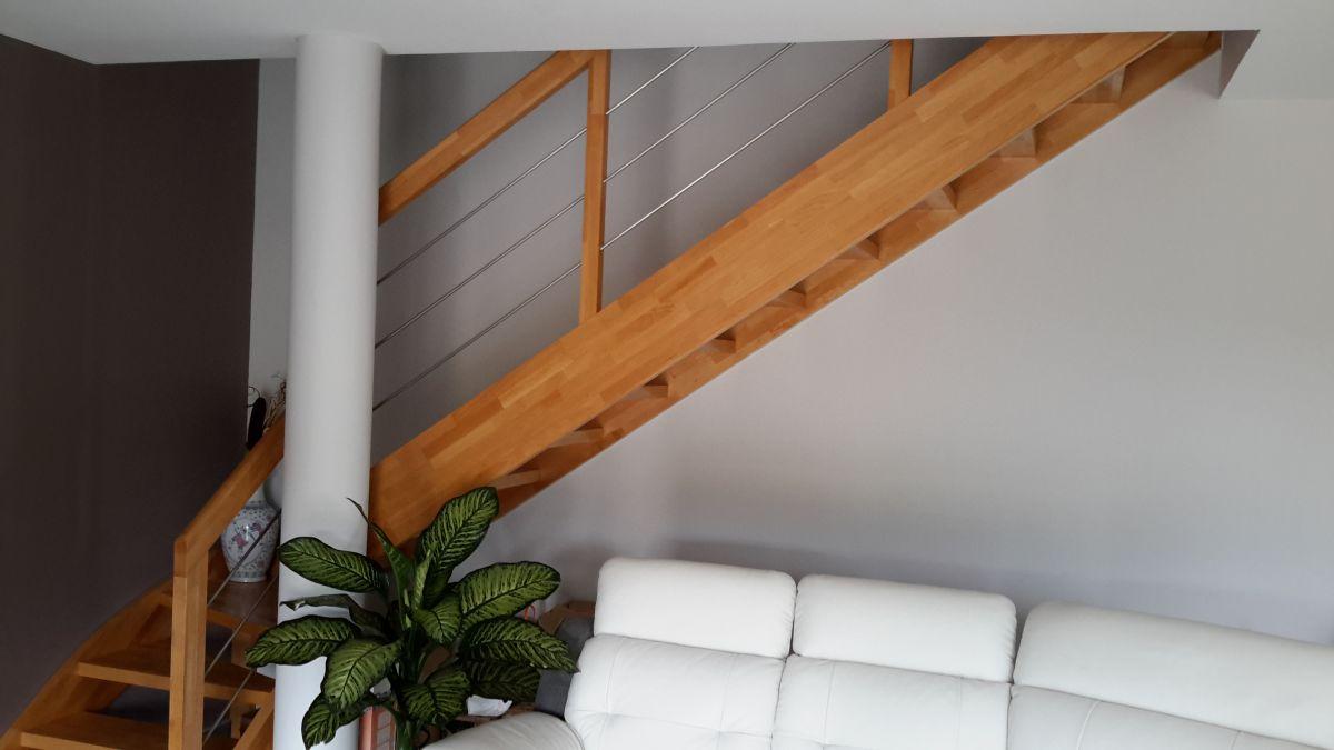 Escalier quart tournant bas dax 40 vente d 39 escaliers - Escalier quart tournant bas ...