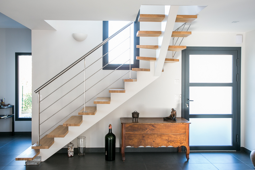 Changer votre escalier bois int rieur capbreton dans les landes vente d - Changer un escalier en bois ...