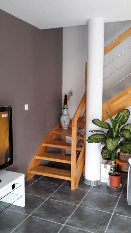 escalier quart tournant bas dax 40 vente d 39 escaliers et gardes corps en bois pays basque. Black Bedroom Furniture Sets. Home Design Ideas