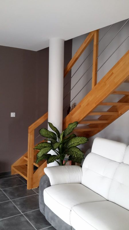 Changer votre escalier bois int rieur capbreton dans les for Devis escalier interieur