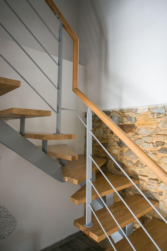 escalier 2 4 tournants limon central metal biarotte 64 vente d 39 escaliers et gardes corps. Black Bedroom Furniture Sets. Home Design Ideas