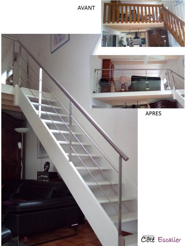 RENOVATION - Le RE-LOOKING escalier dans les landes - Vente d ...